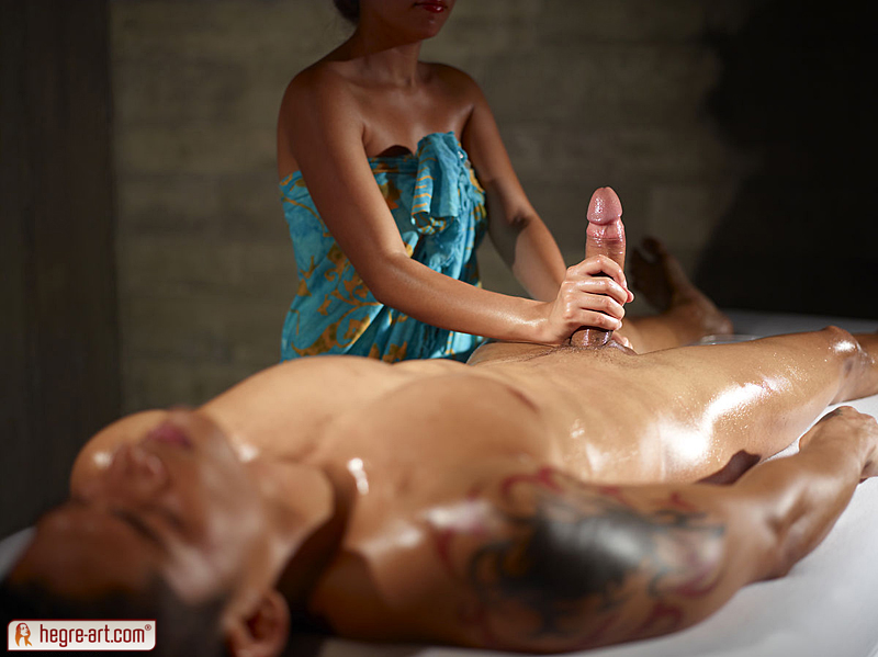 massage happy ending cum sex med tante